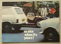 MORGAN PLUS 8 & 4/4 Sports Car Sales Brochure 1975