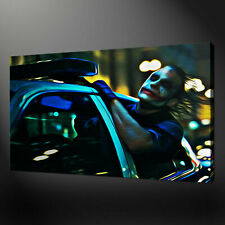 JOKER BATMAN THE MOVIE CANVAS WALL ART PICTURE PRINTS FREE FAST UK DELIVERY