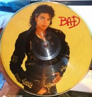 MICHAEL JACKSON - BAD 33 GIRI PICTURE DISC VINILE LP 1987 EPIC 9E9-44043 POP USA