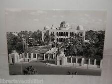 Vecchia cartolina foto d epoca di TRIPOLI Palazzo Reale 1958 Libia veduta del