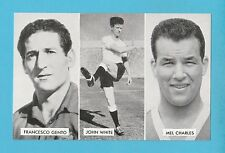 FOOTBALL - D.C. THOMSON -  CUP - TIE  STARS  OF  ALL  NATIONS  CARD  (M) -  1962
