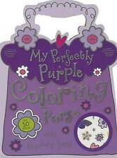 NEW My Perfectly Purple Purse Mini Coloring Book by Make Believe Ideas
