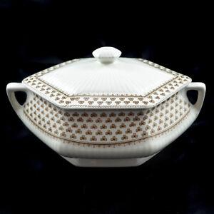 Adams Sharon Schüssel Covered Vegetable Bowl Englische Keramik English Ironstone