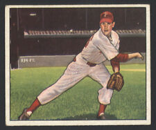 1950 BOWMAN ~ #32  ~ ROBIN ROBERTS ~ HALL OF FAME MEMBER