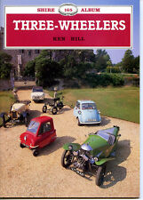 THREE-WHEELERS, SHIRE ALBUM 165, HILL, NEW 1986 CAR BOOK, On Sale or Make Offer
