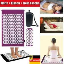Akupressur Set Nagelmatte Akupressurmatte Massagematte & Kissen Akupunktur DE