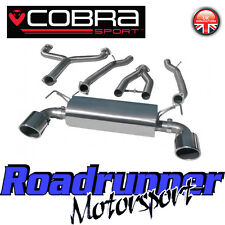 Cobra Sport Fits 370Z Cat Back Exhaust System & Y-Section Pipe Stainless NZ17