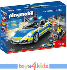 PLAYMOBIL 70067 Porsche 911 Carrera 4S Polizei Set - Ab 4 Jahren