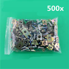 Universal 500x Mixed Car Fender Bumper Screw U Type Gasket Wahser Clip Fastener
