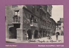 TIRAGE ARGENTIQUE 1920, ESPAGNE, OVIEDO : LA PLACE ALFONSO IV, PLAZUELA   -P126