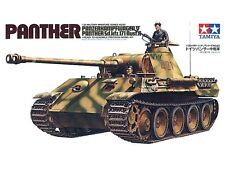 Tamiya 35065 WWII German Panther Tank 1/35 Scale Plastic Model Kit
