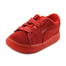 Puma Suede Classic Red 361939-01 Toddler infant Shoes SZ 5C