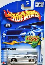 HOT WHEELS 2002 FIRST EDITIONS SALEEN S7 #026 W/ BLACK LINE WINDOW W+