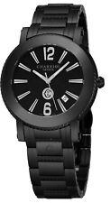 Charriol Men's Parisi Black Stainless Steel Swiss Quartz Watch P42BMP42BM011