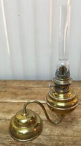 Kosmos Brenner Antique Swivel Lamp Brass Oil Piano German Hugo Schneider Leipzig