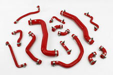Stoney Racing Toyota Celica GT4 ST205 Silicone Coolant Radiator Hose Kit Red