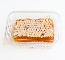 50 Crystal Clear Honey Comb Containers,Food packaging,Holds 6-8oz, FREE P&P
