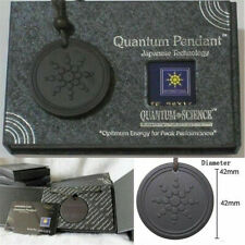Quantum Pendant Necklace Scalar Orgon Energy neg ions EMF Protection Kit NEW