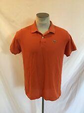 LACOSTE Men's Short Sleeve Logo Polo Shirt Size 6