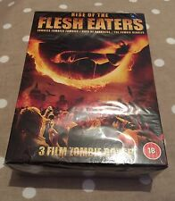 Rise Of The Flesh Eaters 3 Disc Sealed Set halloween dvd