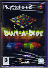 PS2 Bust-A-Bloc (2003), UK Pal, New & Sony Factory Sealed