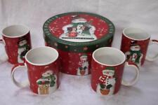Certified International Tidings of Cheer Coffee Mugs - Set of 4