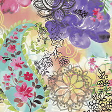 20 Lunch Paper Napkins FLORAL MIX Decoration DECOUPAGE Shabby Chic Flowers