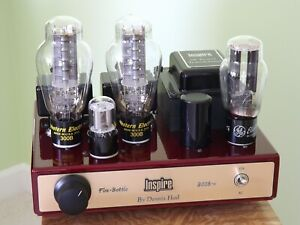 STEREO TUBE AMPLIFIER INSPIRE by DENNIS HAD CLASS A 300B SINGLE ENDED AMPLIFIER