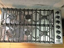 """Viking 36"""" Stainless Pro Gas Cooktop,"""