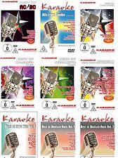 Karaoke Fanset - 9 DVDs im Set - AC/DC, ABBA, Peter Maffay, Neue Deutsche Welle