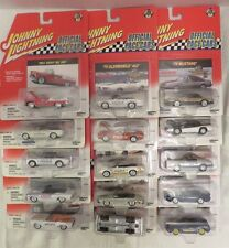 Johnny Lightning Official Pace Cars 15 Die-Cast Metal 1:64 Complete 2001 Issued