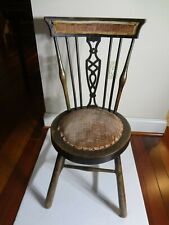 18TH Antique Childs Chair Original Condition, Very Rare.