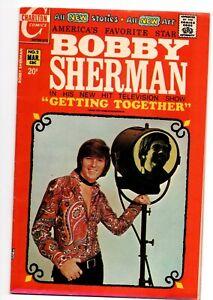 BOBBY SHERMAN GETTING TOGETHER #2 CHARLTON COMICS March 1972 TV SERIES TEEN IDOL