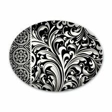 """/""""Vanilla Palm/"""" Oval Glass Soap Dish in Original Box Michel Design Works  NEW"""