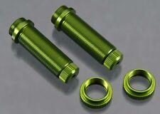 STRC [STR] Rear Threaded Aluminum Shock Bodies Green (2) STRST3766XG