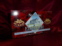 Vintage TIN Strathdee Edinburgh. Pure Butter Shortbread Fingers Food Advertising