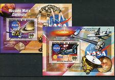 Burundi 2014 MNH NASA ESA Telescopes & Probes 2x Deluxe S/S Space Hubble Saturn