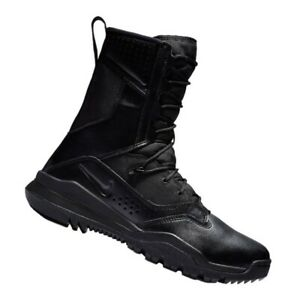 "Nike SFB Field 2 8"" Tactical Black Boots Military Menssz AO7507-001 ( Sz 12)"
