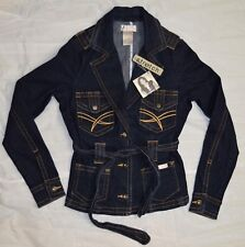 Baby Phat Stretch Denim Jacket Womens size Medium NEW designer jacket