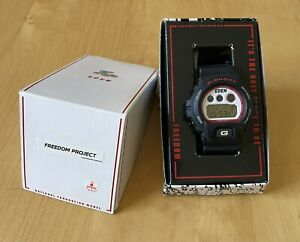CASIO G-SHOCK DW-6900 EDEN Freedom Project Katsuhiro Otomo Quartz Watch Rare