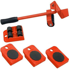 Kit sollevatore sposta mobili solleva ruote piastre trasloco spostare sollevare