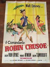manifesto,Il comandante Robin Crusoe (Lt. U.S.N.),WALT DISNEY,VAN DYKE KWAN 1966