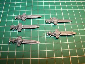 5 Adeptus Custodes Custodian Guard Sentinel Blades (bits)