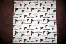 NFL ATLANTA FALCONS XL HEAD BANDANA / CHEERING CLOTH - APPROX 25""