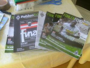 Borussia Mönchengladbach Fohlen Echo 14  Hefte -2010-2012 alle signiert