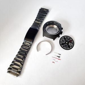 Military BUND Chronograph ETA Valjoux 7750 Uhrenkit / Bausatz Uhrengehäuse Case