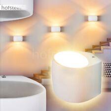 Keramik Up Down Wand Lampen weiß bemalbar Flur Dielen Wohn Schlaf Raum Leuchten