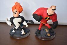 2x Disney Infinity Figuras Mr. increíble & síndrome