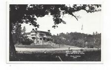 Sd Custer State Park South Dakota antique real photo post card State Game Lodge