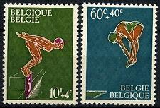 Belgium 1966 SG#1965-6 Swimming MNH Set #D49179